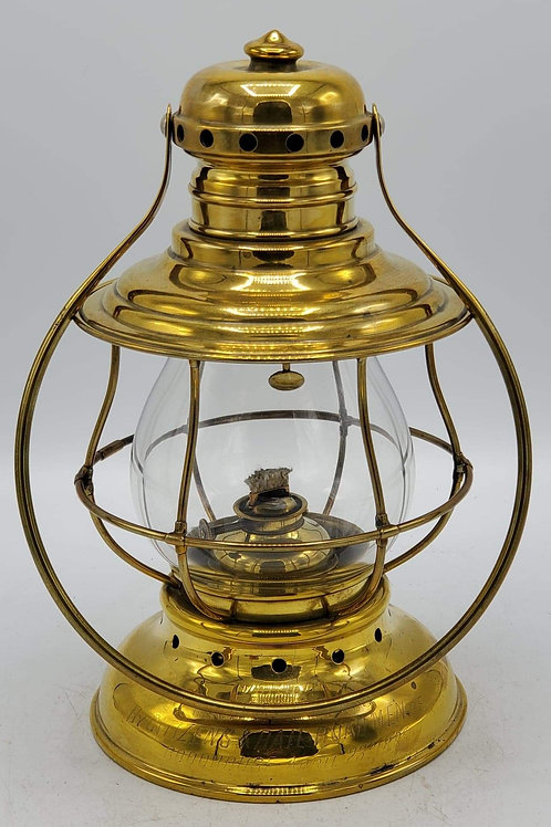 M.M. Buck conductor engraved bell