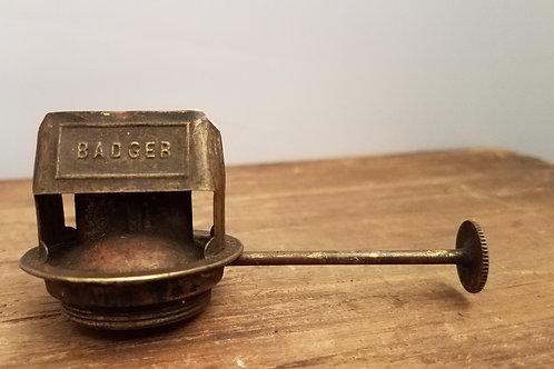Badger brass Convex burner