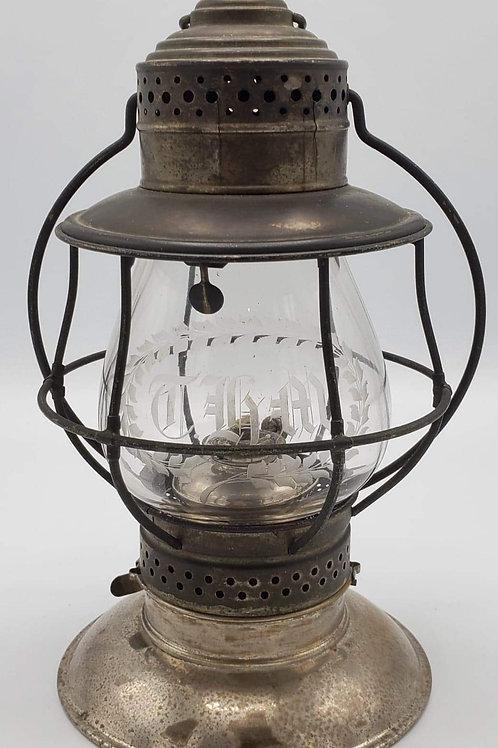 R.E. Dietz Co. no.39 Fire Dept. ( wheel cut globe )