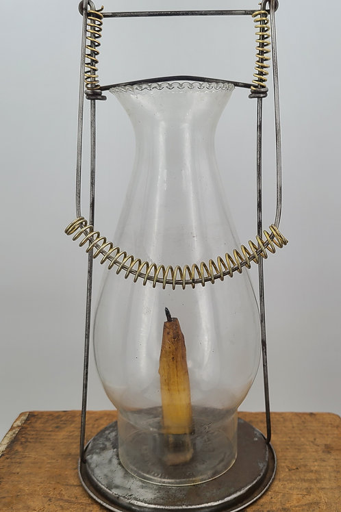 Fred Fear 1894 patented candle lantern