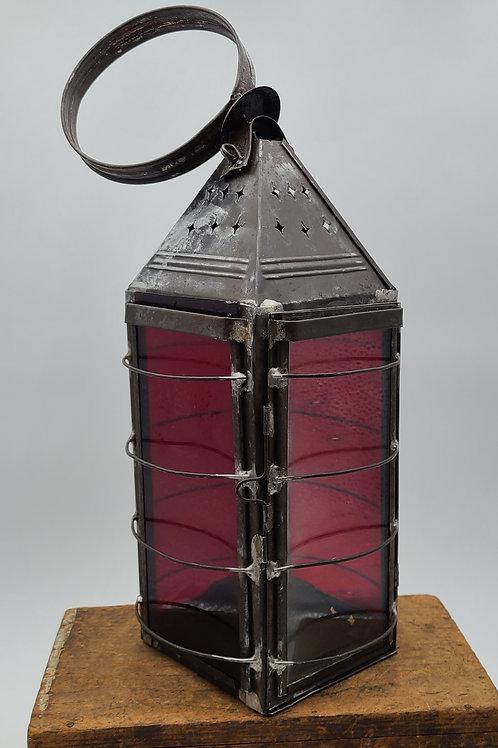 Civil war era Fire Dept. Box wristlet lantern