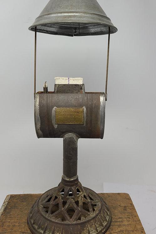 S.N.& H.C. Ufford Lard Lamp Kinnear's 1851 patent