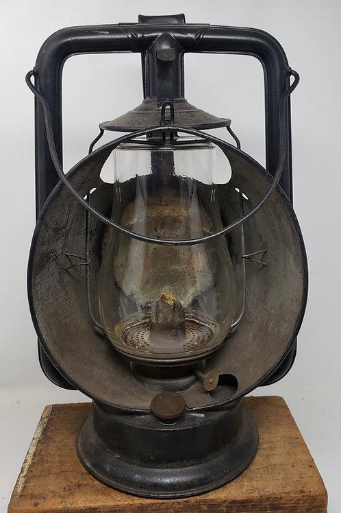 N.Y.C. Lines Star Headlight & Lantern Co Inspector lamp  (etched globe)