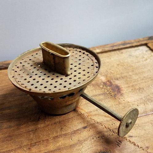 Brass No.2 Burner with Filigree Thumbwheel