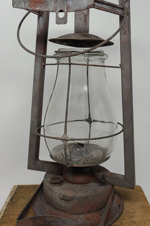 """S.G.& L. """" O.K."""" Tubular with post bracket ( possibly Mill used)"""