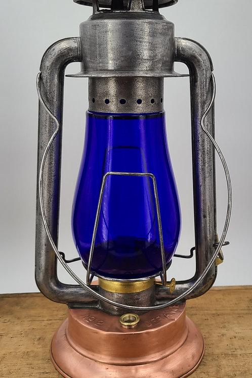 Defiance Lantern & Stamping Co. No.2 Copper fount Coldblast