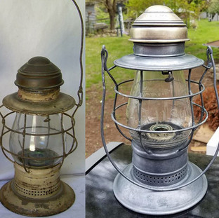 Railroad Signal Lamp and Lantern Co.  Fire Dept.
