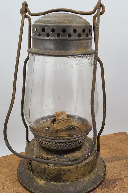 National Marine lamp Co. engineer hand lantern