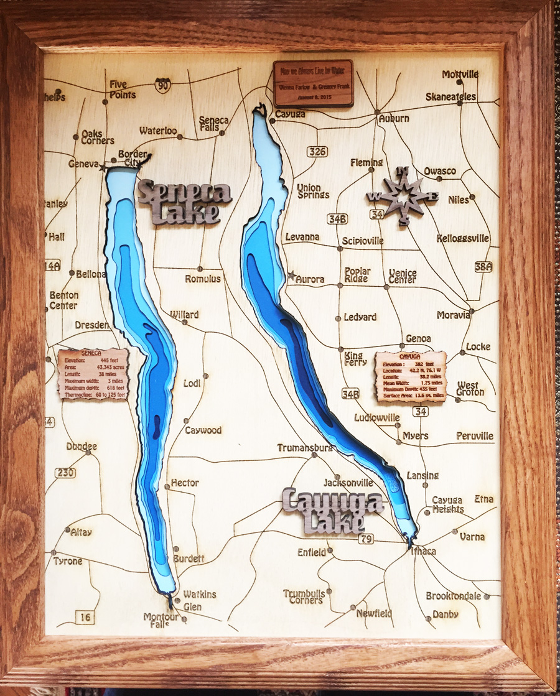 Seneca Cayuga Lakes