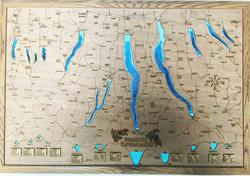 Finger Lakes 24x36