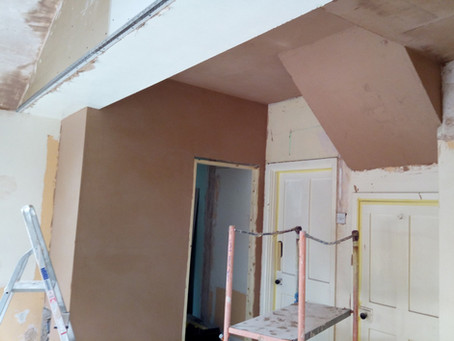 Plastering Whole Room & Installing A New Window