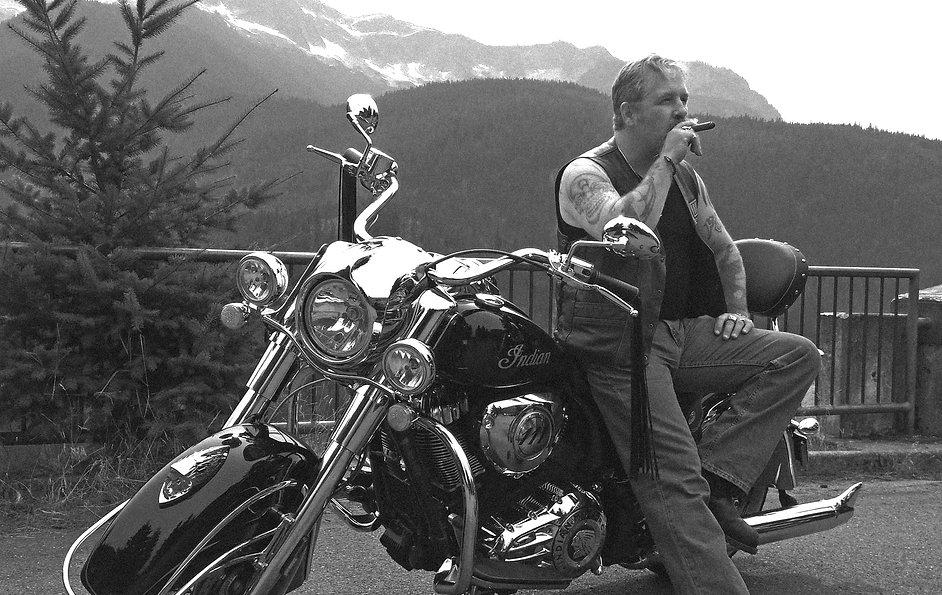 Randy V Cigar Bike BW Lyrical Video Idea