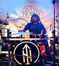 Andrew Aubut on Drums 2019
