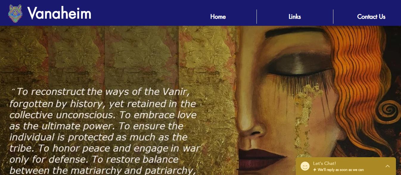 Vanaheim Home Page