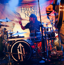 Andrew Aubut on Drums