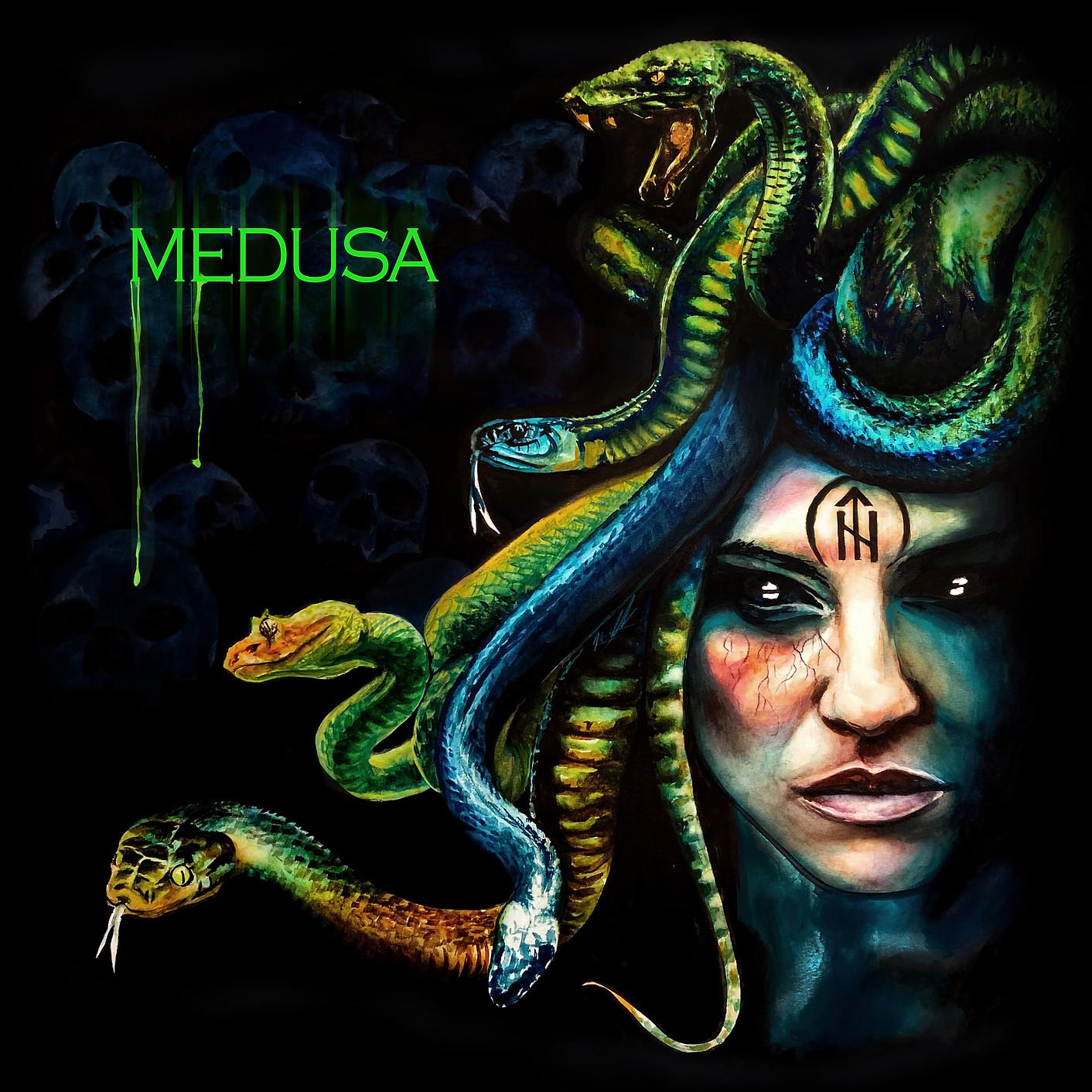 Medusa Single Artwork by Naomi Griffin