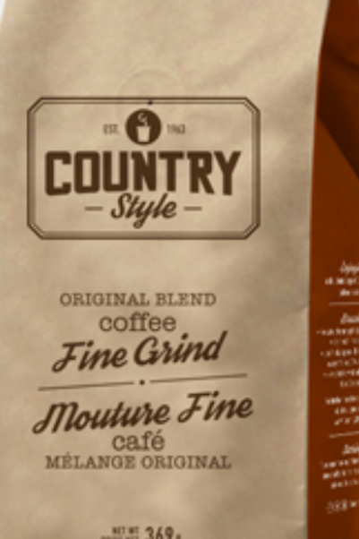 Country Style Fine Ground Coffee