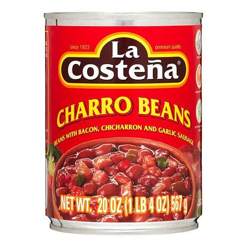 La costeña charro beans