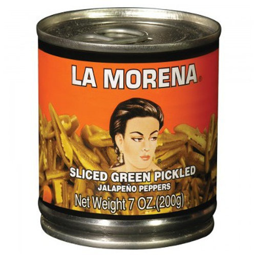 La Morena Green Pickled Jalapeños