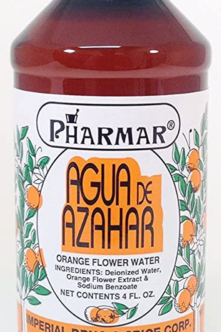 Pharmar orange flower water