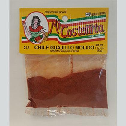 Mi Costeñita Chile guajillo molido/ ground guajillo chile