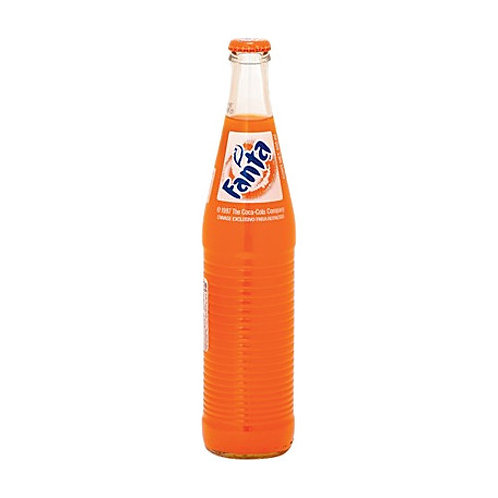 Fanta Orange Bottle- Naranja Botella