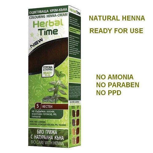 Herbal Time Chestnut Hair Dye