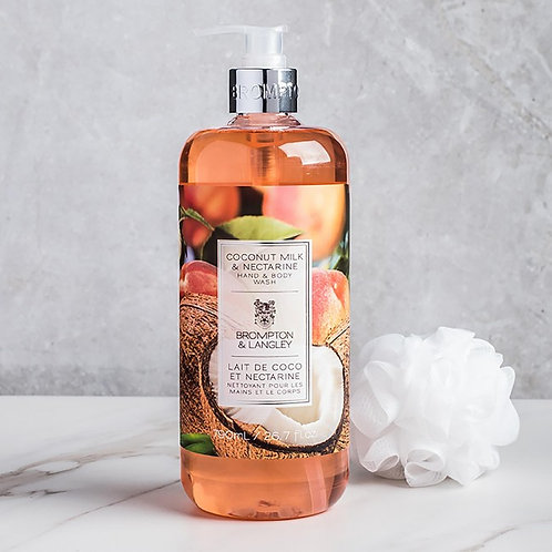 Brompton & Langley Coconut nectarine hand and body soap