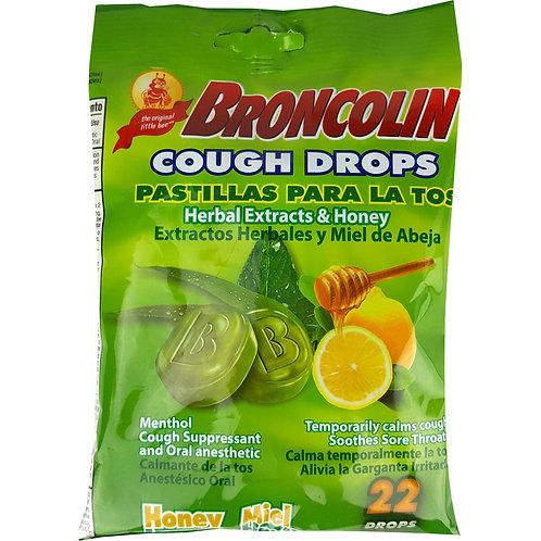Broncolin Honey Cough Drops