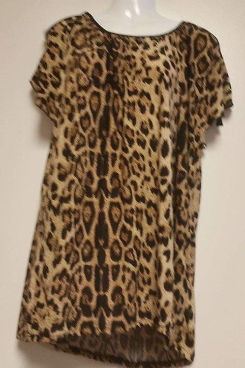 Extra large Animal Print Top