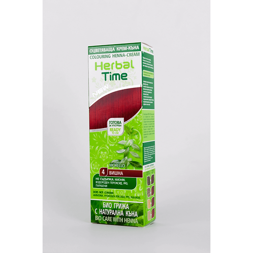 Herbal Time Morello Hair Dye