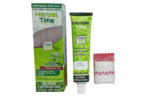 Herbal Time Silver blonde Hair Dye