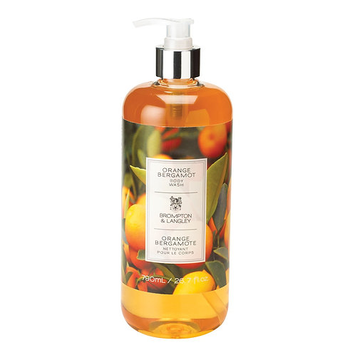 Brompton & Langley orange hand and body soap