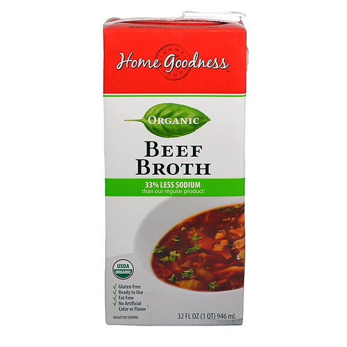 Home Goodness beef broth