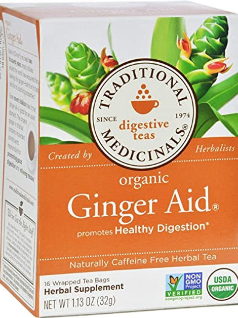 Traditional med Ginger Aid Tea