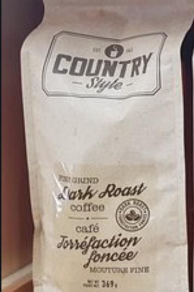 Country Style Dark Roast Coffee