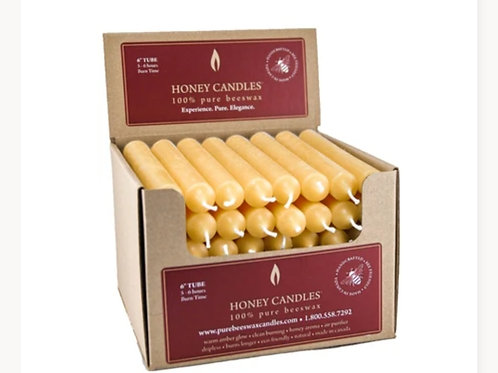 """Honey beeswax candle 🕯️ 6"""""""