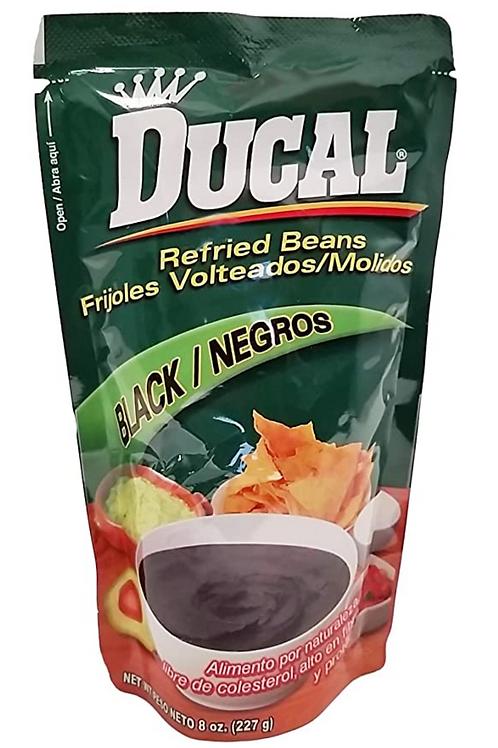 Ducal Refried black beans 220g