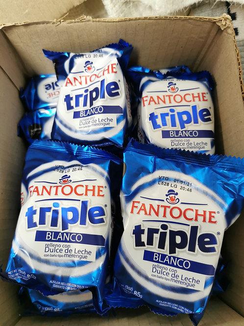 Alfajores triple  Dulce de leche
