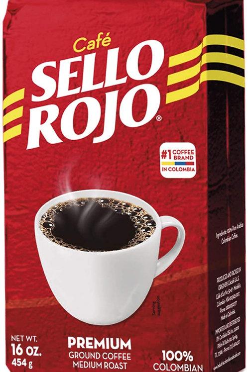 Sello Rojo Roast Ground Coffee (454grams)