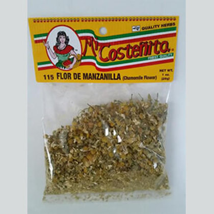 Mi Costeñita flor de manzanilla/ Chamomile flowers