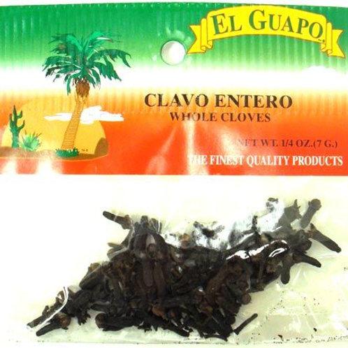 Si señor clavo entero/ whole cloves