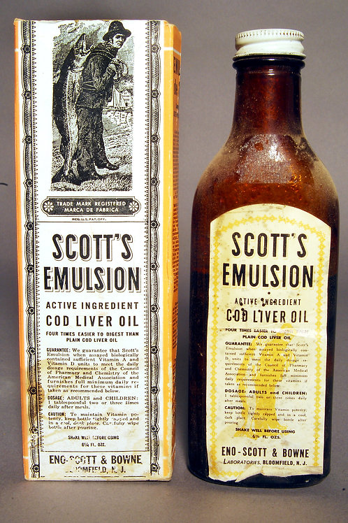 Emulsion Escot- Cod Liver Oil