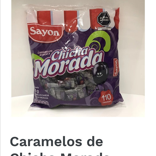 Chicha morada candies