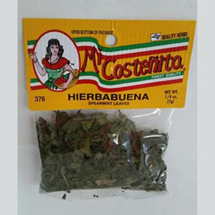 Mi Costeñita Hierbabuena/ Mint