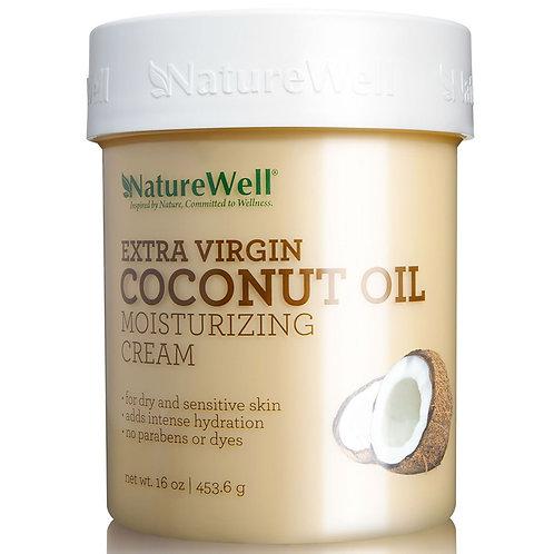 NatureWell Extra Virgin Coconut Oil Moisturizing Cream