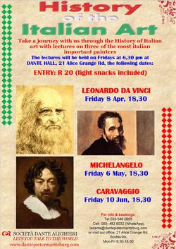 Fri 8 Apr, 18h30: THE ITALIAN ART