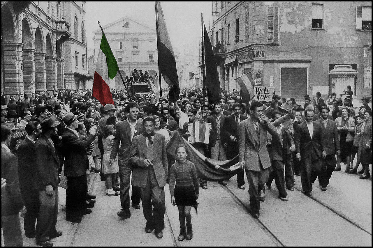 LIBERATION DAY, FRIDAY 25TH APRIL