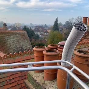 Chimney lining in Staines upon Thames.jp