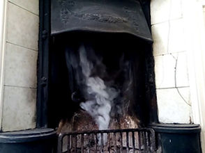 chimney smoke test